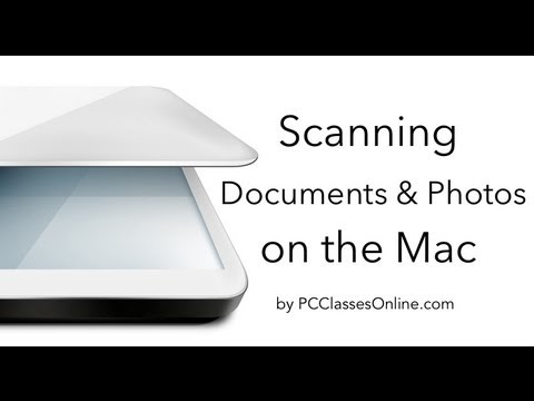 Scanning Documents & Photos on a Mac