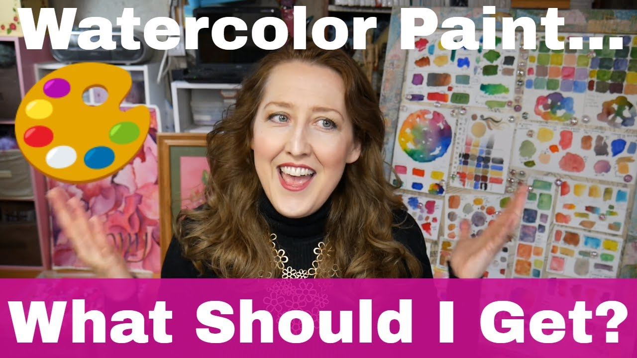 What is the difference between watercolor grades? Children's, budget,  student, professional grade?