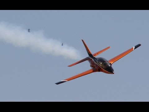 RC Jet GoPro Freefall: RC-TV