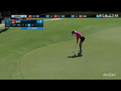 Michelle Wie Third Round Highlights - 2017 CME Group Tour Championship