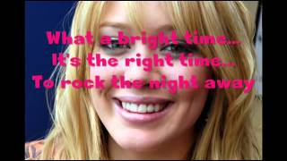 Hilary Duff   Jingle Bell Rock with lyrics