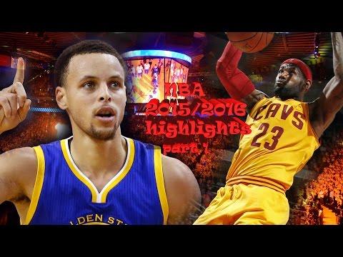 NBA 2015/2016 highlights PART 1