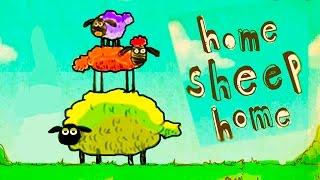 Барашек Шон - Shaun the Sheep - Home Sheep Home - ИГРА как мультик - Для Детей  серия #1