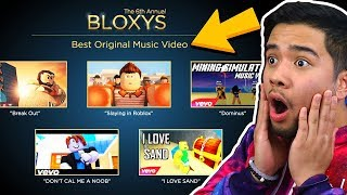 BEST ROBLOX MUSIC VIDEO OF THE YEAR! *6th Annual Bloxy Awards*