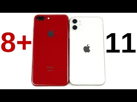 iPhone 8 Plus vs iPhone 11 Speed Test!