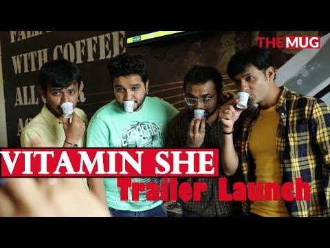Vitamin She Trailer Launch | Dhvanit | Sanjay Raval | Faisal Hasmin