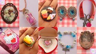 10 DIY JEWELLERY IDEAS/Paper Jewellery/Hello kitty Jewellery/customized Jewellery