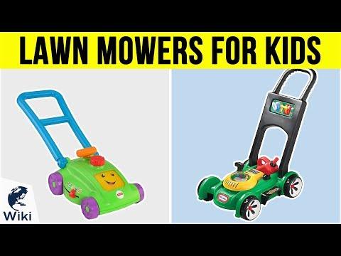 7 Best Lawn Mowers For Kids 2019