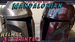 Star Wars Mandalorian Helmet Build