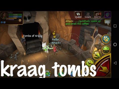 Arcane Legends- Up LVL 56///Kraag Tombs IV