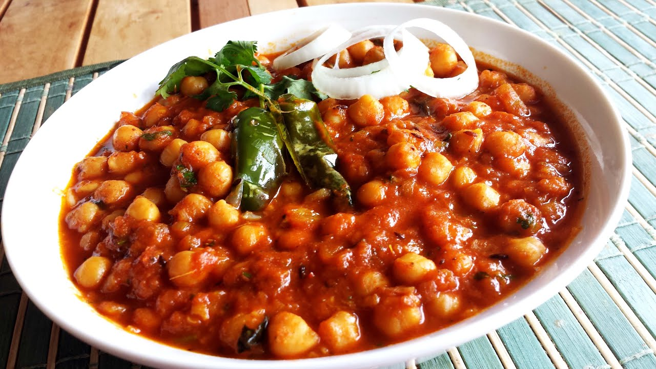 Channa masala indian style chickpea curryveganvegetarian recipe channa masala indian style chickpea curryveganvegetarian recipe youtube forumfinder Gallery
