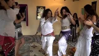indian girls have a beat up time learning dance for a beauty pageant
