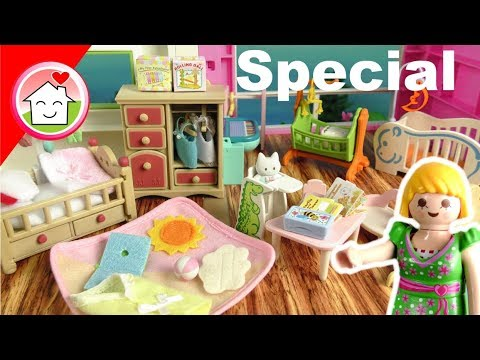 Exceptionnel Playmobil Babyzimmer   Sylvanian Families Baby Room   Babyausstattung  Unboxing Von Familie Hauser
