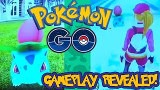 FIRST POKÉMON GO GAMEPLAY REVEALED - SEREBII CONFIRMED SXSW LEAKED FOOTAGE
