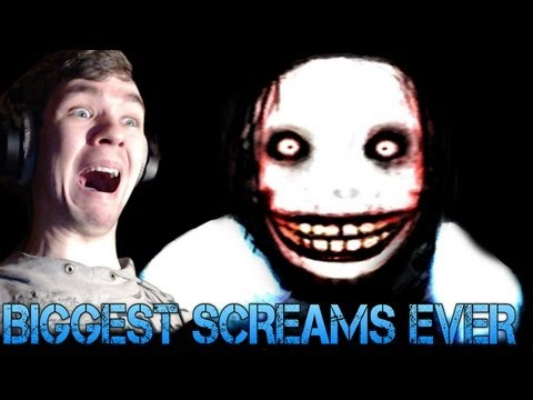 Jeff The Killer - BIGGEST SCREAMS EVER - Horror Game Gameplay/Commentary
