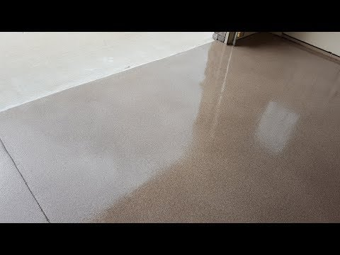 Garage Epoxy Vinyl Chips Decorative Concrete Flooring Lake of the Ozarks