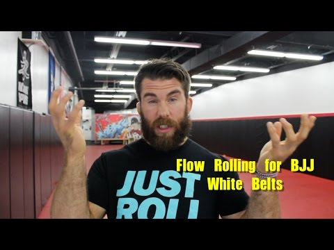 BJJ Flow Rolling for White Belts and Rep Techniques