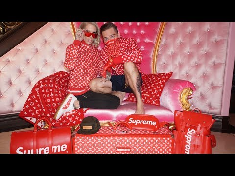 LOUIS VUITTON X SUPREME HAUL | Jeffree Star