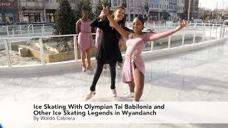 Ice Skating With Olympian Tai Babilonia and Other Ice Skating Legends in Wyandanch