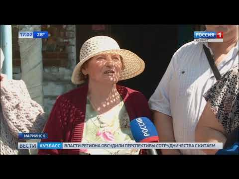 В Мариинске в подвале жилого дома несколько лет стоит вода