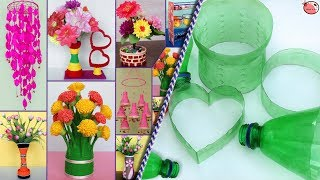 10 Plastic Bottle Craft Ideas || DIY ROOM DECOR 2019