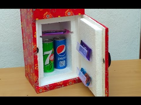 How to make a Mini  Refrigerator  (  Low cost DIY)