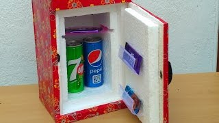 how to make a mini refrigerator low cost diy