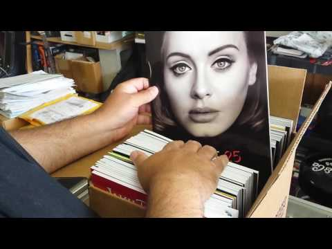 Unboxing a new shipment from Hal Leonard Publishing  / July 2016
