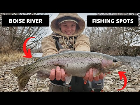 Boise River Fishing Spots
