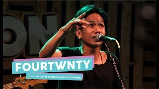 [HD] Fourtwnty - Aku Tenang (Live at TOP COFFEE, Yogyakarta 2017)