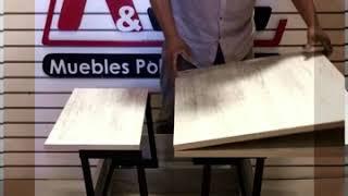 Mesa de centro Plegable Funcional - Muebles funcionales a medida  en Chile