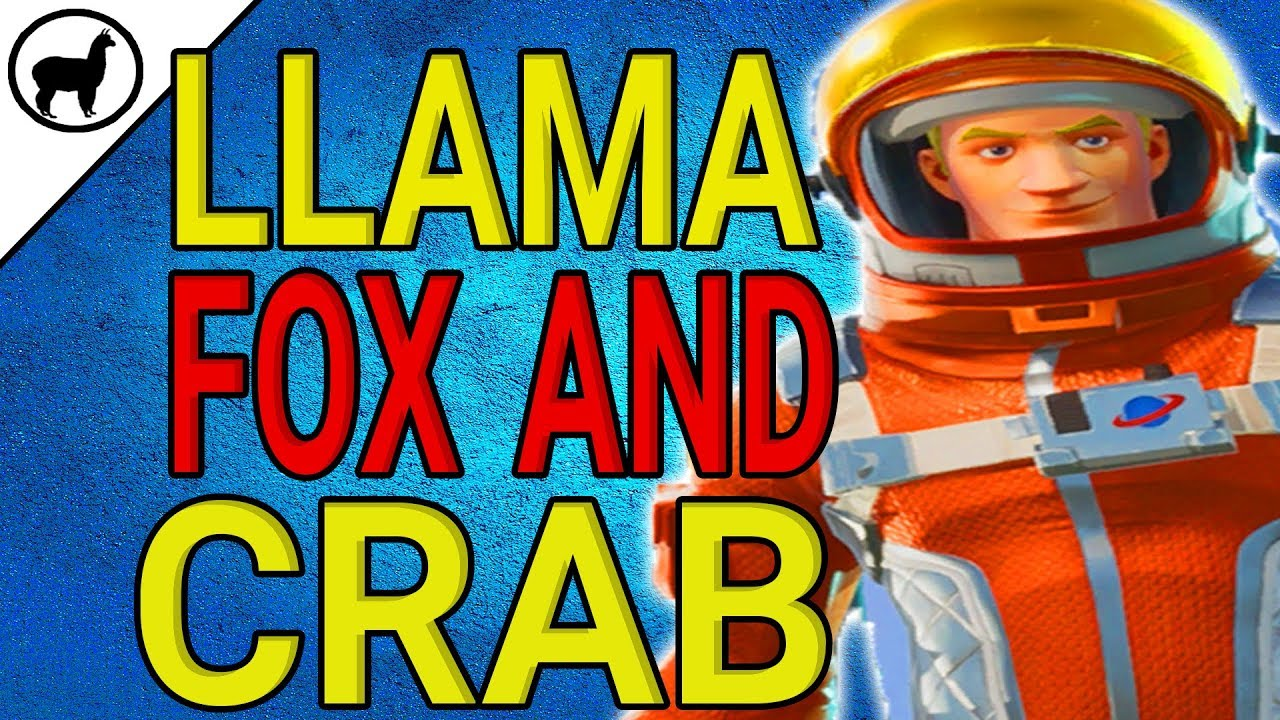 Visit Fox And Crab Fortnite Visit A Llama Fox And A Crab Challenge Battle Pass Season 3 Week 1 Challenges Fortnite Br Youtube