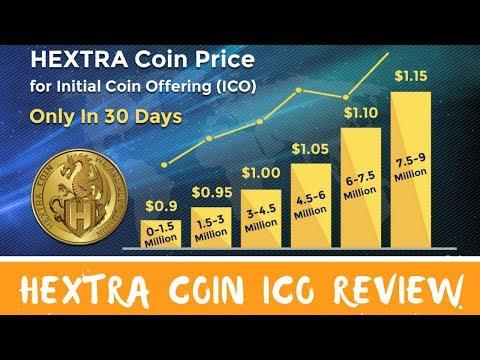 HEXTRA COIN ICO REVIEW - hextracoin scam? or another regalcoin/bitconnect???
