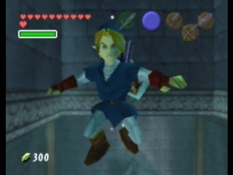 Legend of Zelda : Ocarina of Time - Water Temple Full 100% Walkthrough