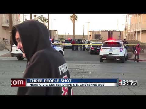 Triple shooting at North Las Vegas apartment complex