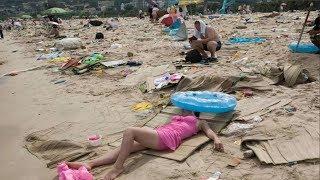 Не пляжи, а мусорная свалка. 5 самых грязных пляжей!