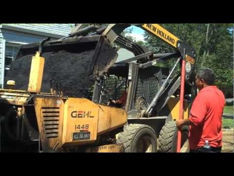 How to Professionally Install An Asphalt Driveway / Masonry Work / Patio