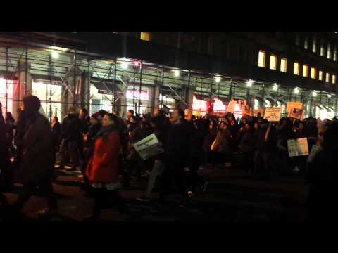 Revolutionary Communist Party In Garner Protest