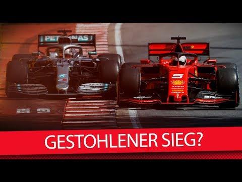 Wurde Vettel der Sieg gestohlen? - Formel 1 2019 (VLOG)