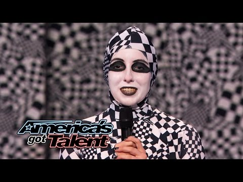Dancers Wow Judges with a Visual Twist - America's Got Talent 2014