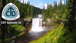 """CDT Thru Hike 2018 Ep 23 - Flagg Ranch to Old Faithful - """"Yellowstone I: Bechler River Adventure"""""""