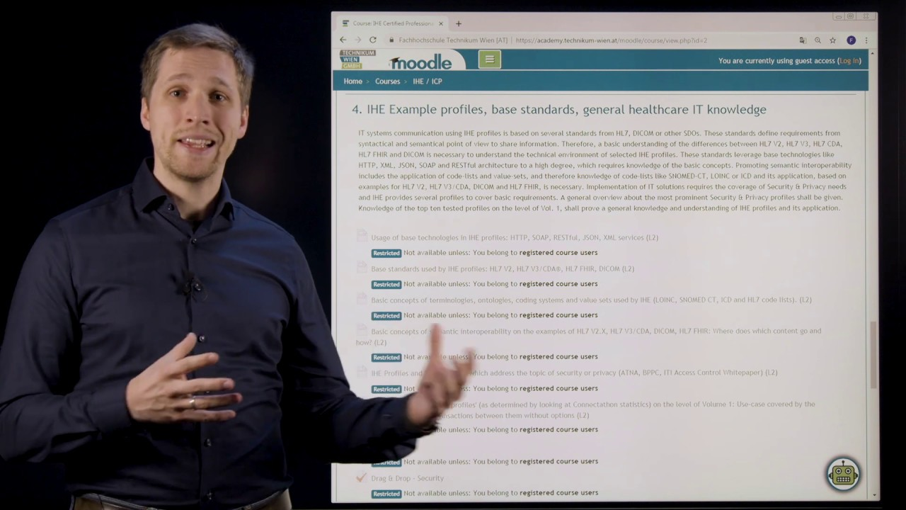 Course: IHE Certified Professional – IHE Foundations