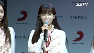 "[SSTV] 크레용팝(CRAYONPOP) 소율, 헬멧 벗은 소감? ""저희의 색깔이 묻어나도록 노력할 것"""