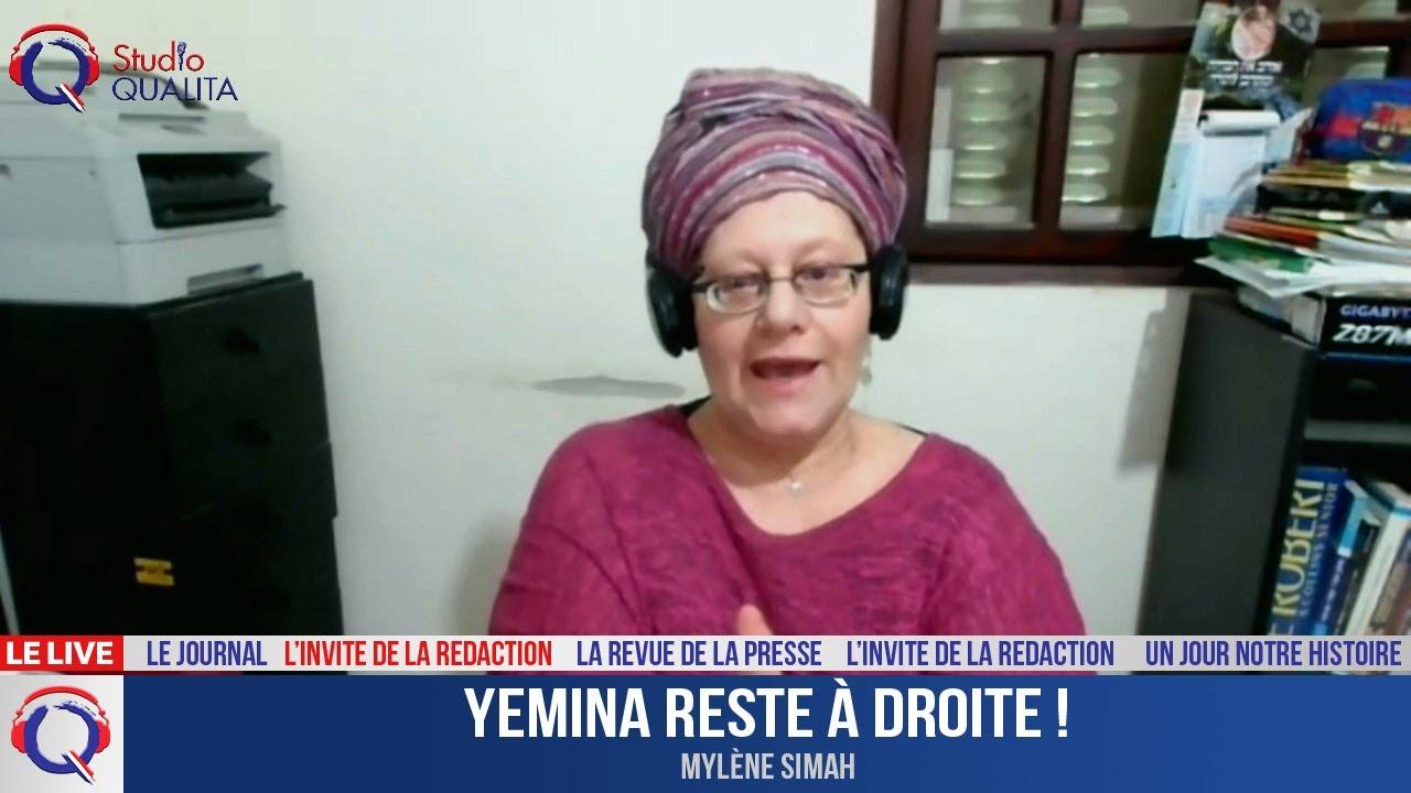 Yemina reste à droite ! - L'invité du 6 mai 2021
