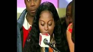 Video Foxy Brown Interview about being Deaf
