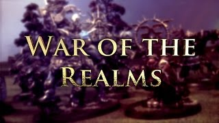 High Elves vs Daemons of Chaos Age of Sigmar Battle Report - War of the Realms Ep 13