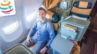 Und wie ist die Alitalia Business Class auf Langstrecke in der A330? | GlobalTraveler.TV