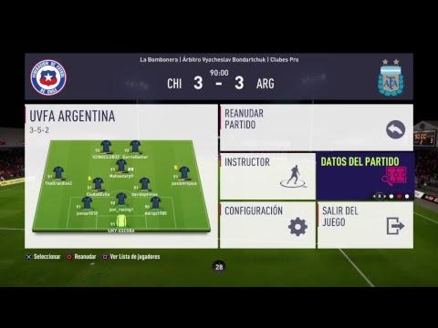 Uvfa Argentina vs Uvfa Chile.     Copa America