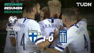 Resumen y Goles Finlandia 1 - 0 Grecia | Eliminatorias - UEFA Euro 2020  - Jornada 5 | TUDN