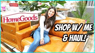 HOMEGOODS SHOP WITH ME & HAUL! SUMMER DECOR & FURNITURE!